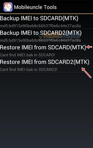 Cara backup dam restore IMEI