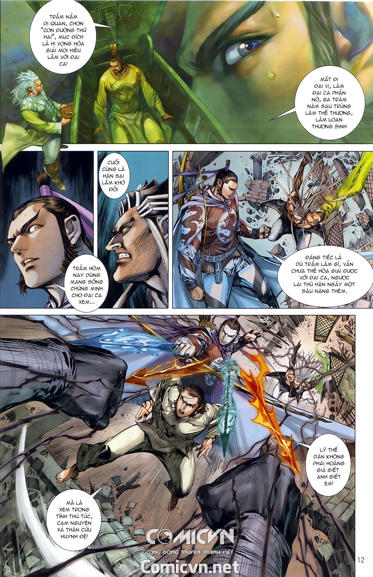 Thiết Tướng Tung Hoành chap 245 - Trang 11