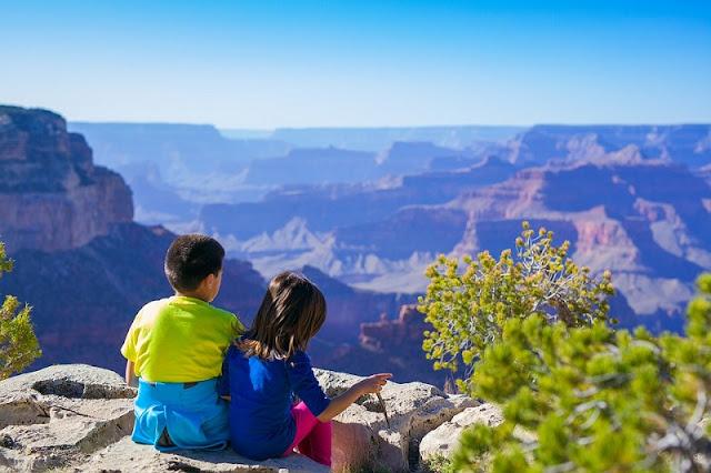 O que fazer com criança no Grand Canyon