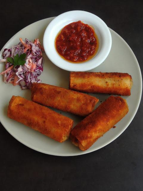 Srilankan Kheema Rolls, Mutton Kheema Rolls