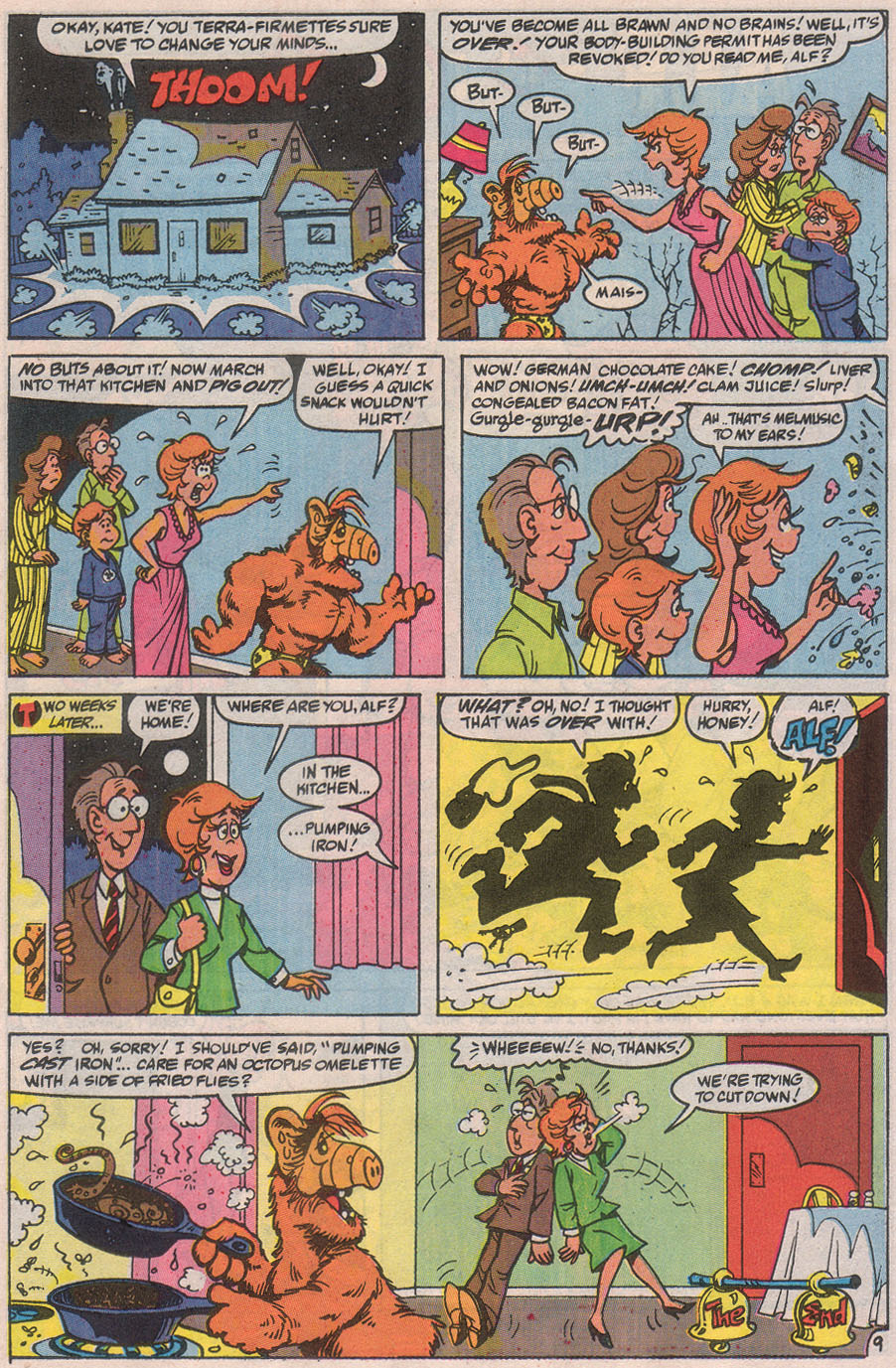Read online ALF comic -  Issue #32 - 15