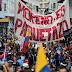 Ecuatorianos marchan masivamente contra el régimen pro estadounidense de Moreno
