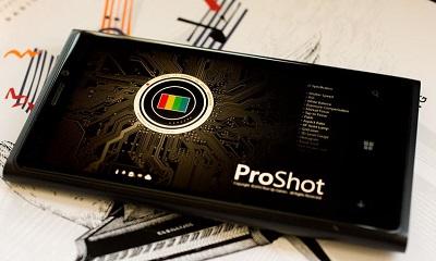 aplikasi kamera ProShot