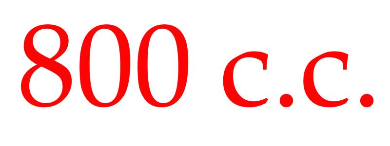 目前「全世界」表定最大矽膠假體的就是800 c.c. 了
