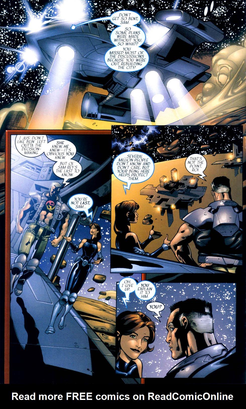 Read online Sigil (2000) comic -  Issue #10 - 15