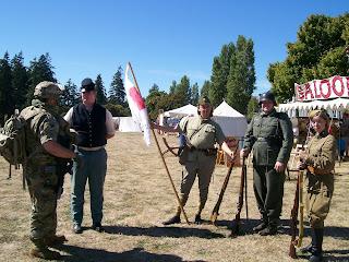 Fort Worden 2016 Mixed Era Military Reenactors
