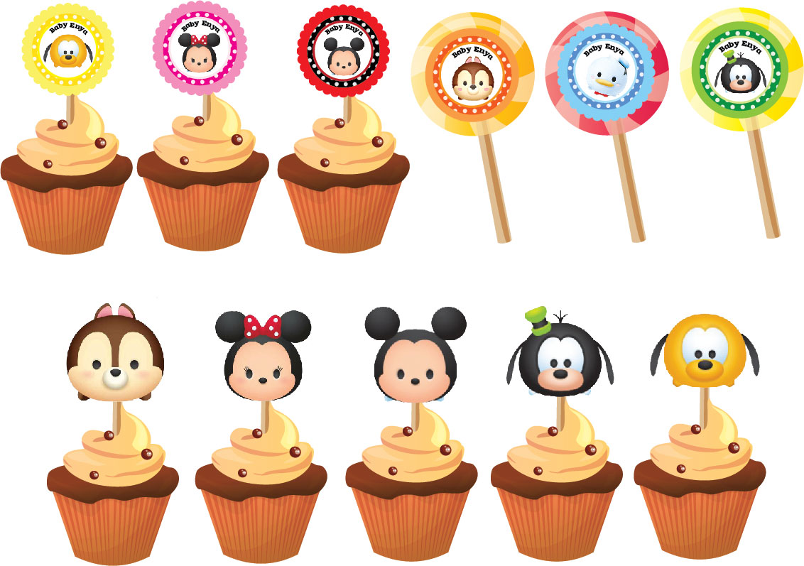 Mejores 56 Imágenes De Tsum Tsum Party En Pinterest: Party Hat: Disney Tsum Tsum For Baby Enya