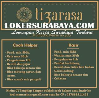 Lowongan Kerja di Tiga Rasa (3) Surabaya Terbaru Mei 2019