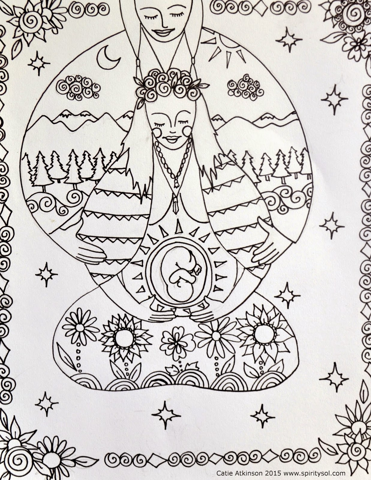 Spirit Amp Sol Free Coloring Pages