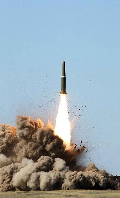 O míssil Iskander é capaz de levar bombas atômicas