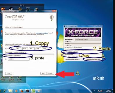 cara mudah instal corel draw x7