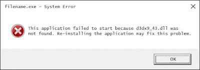 Telecharger D3dx9_43.dll assassin's Creed Fichier Gratuit Installer