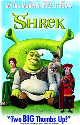 Poster of  Shrek 2001 Full Dual Audio Hindi English 720p BluRay