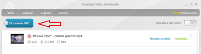 Приложение Freemake Video Downloader