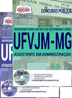 Apostila Concurso UFVJM MG 2017