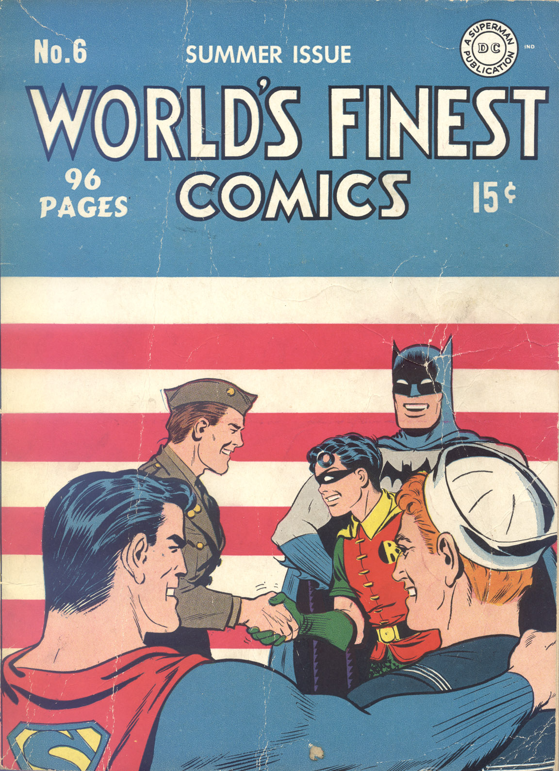Read online World's Finest Comics comic -  Issue #6 - 1