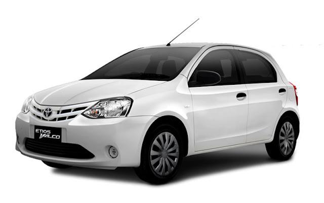 Gambar Toyota Etios Valco putih