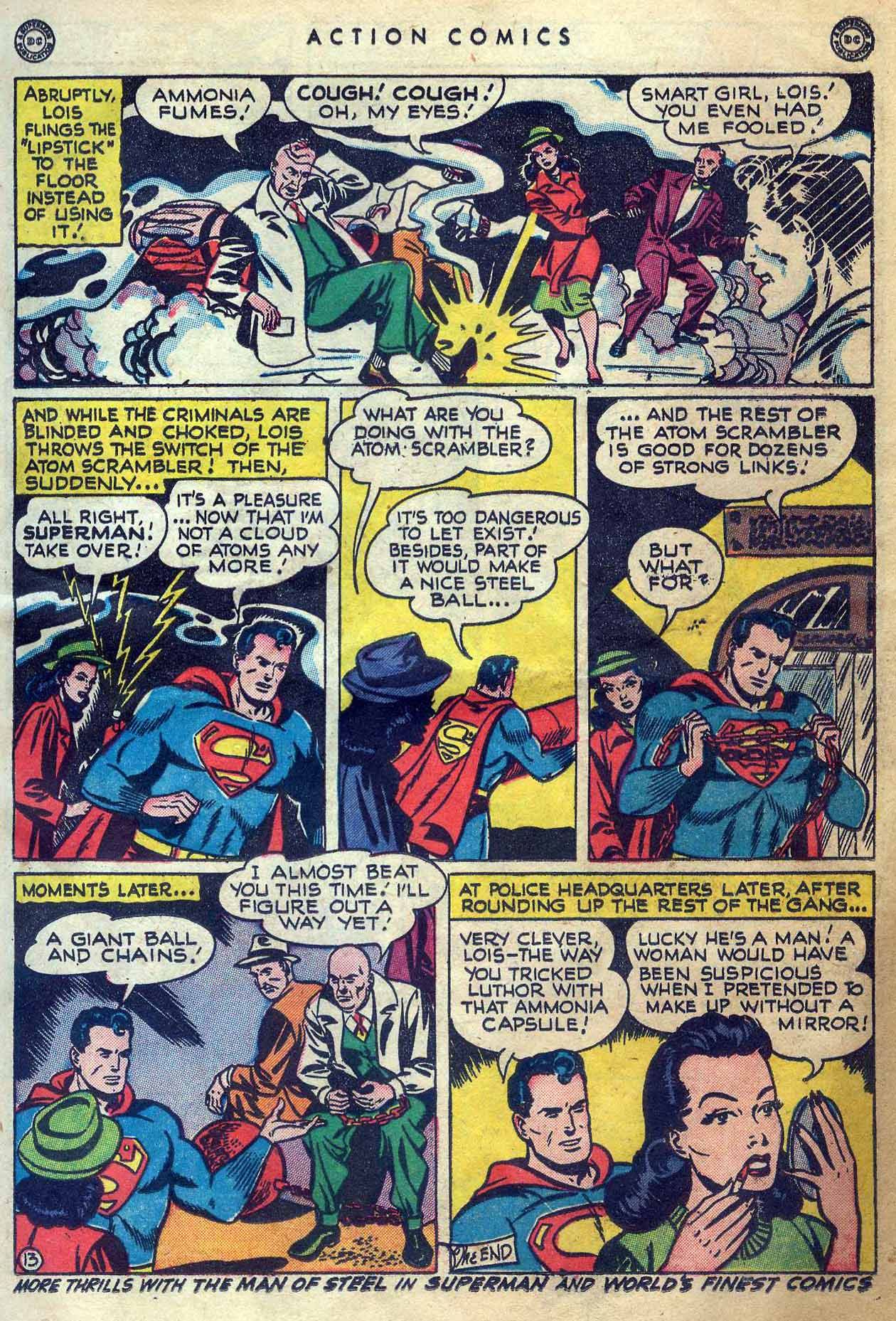 Read online Action Comics (1938) comic -  Issue #131 - 15