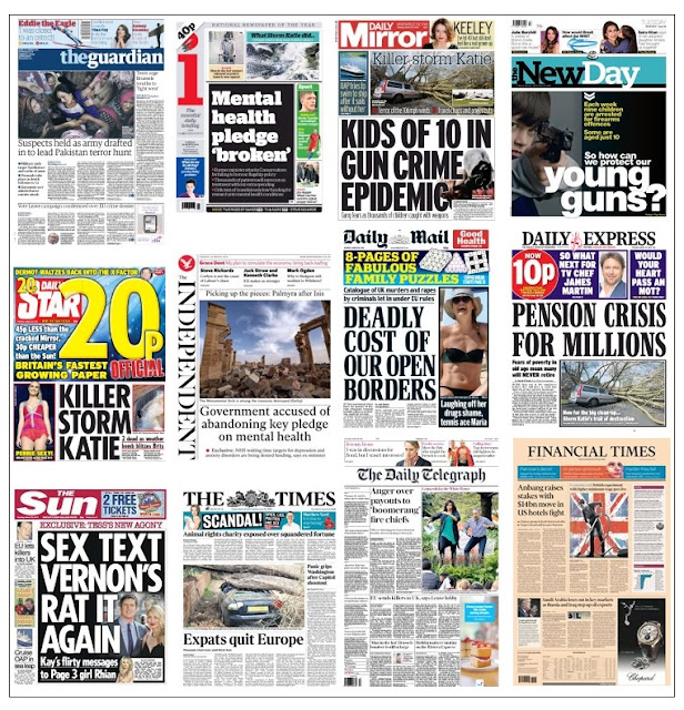 Front pages 29-03-16