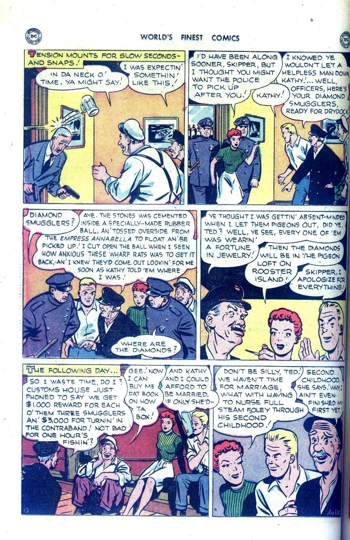 Read online World's Finest Comics comic -  Issue #43 - 38