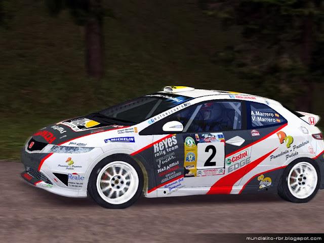 Skin_Honda_Civic_R3_Marrero_Rallye_Teror_2012