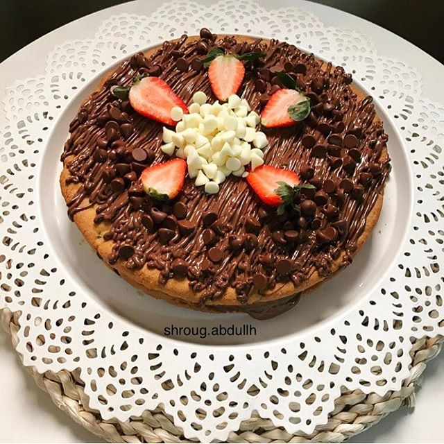 8329ed938ce33 طريقة عمل كيكة الكوكيز هشه ولذيذة cake Cookies