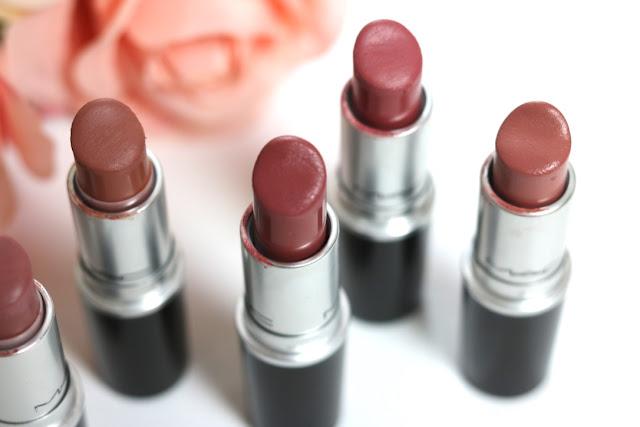 G Beauty: MAC Nude Lipsticks