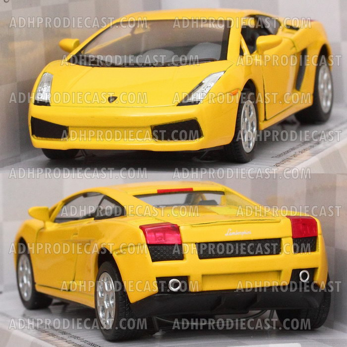 Miniatur Lamborghini Gallardo (Yellow-32K)