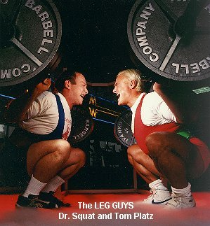 STRENGTH FIGHTER™: Dr Squat Fred Hatfield vs Tom Platz