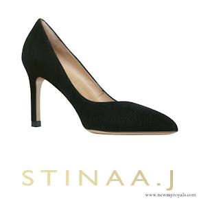 Princess Sofia wore STINAA.J Stina Suede Shoes