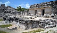 Zona arqueológica El Rey en Cancún
