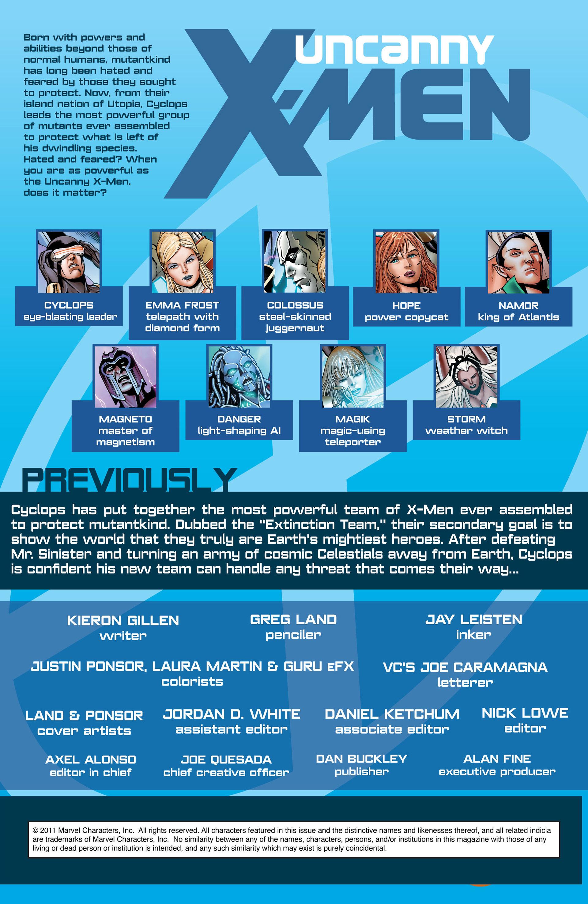 Read online Uncanny X-Men (2012) comic -  Issue #5 - 2