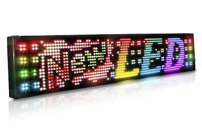Shop the 20mm Full Color 1 Row Programmable Scrolling LED Sign at AffordableLED.com