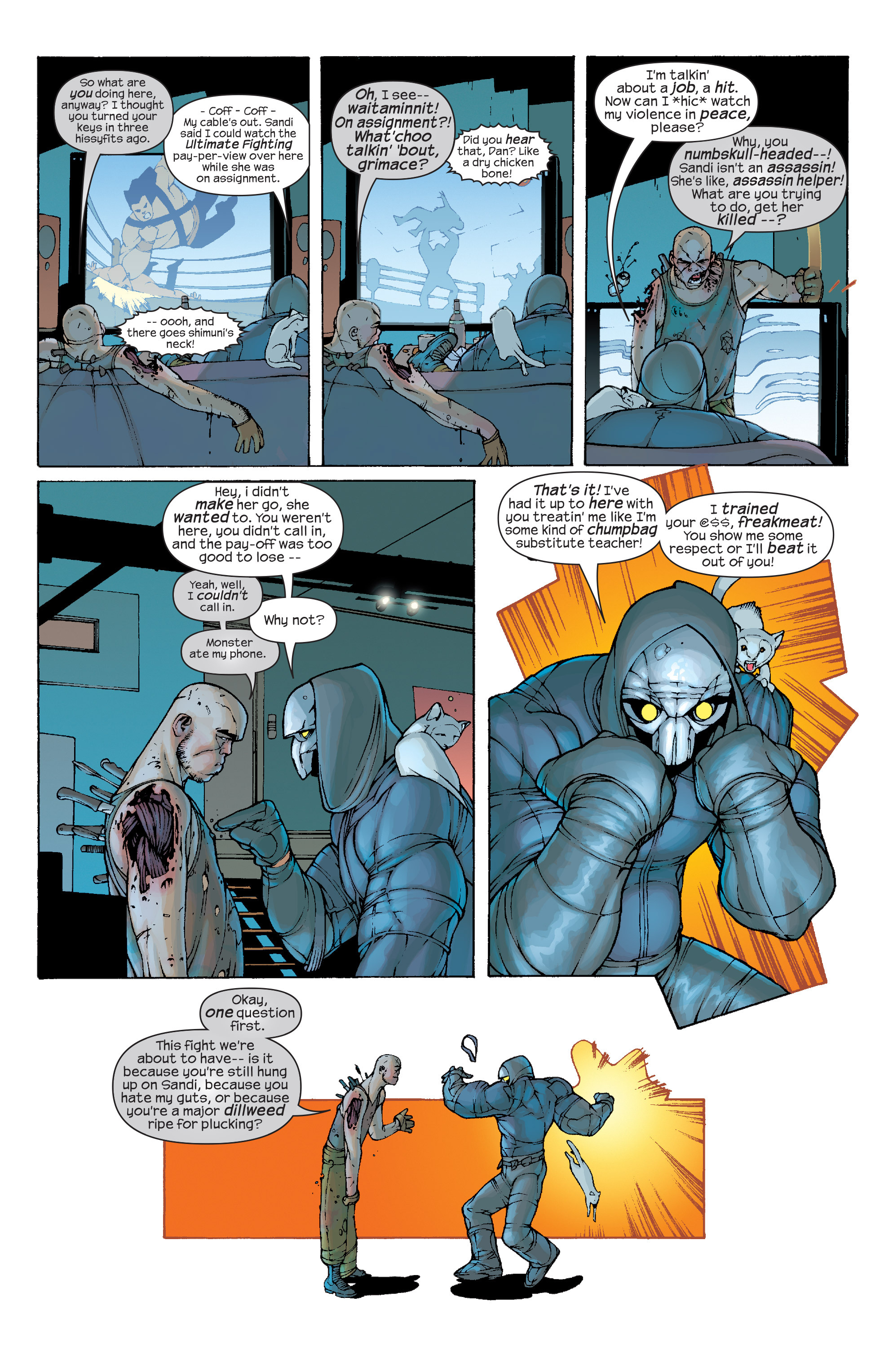 Read online Agent X comic -  Issue #10 - 5