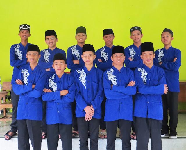 Anggota Marawis MA Nurul Huda
