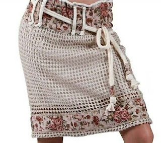 Fabric and Knitting, skirt