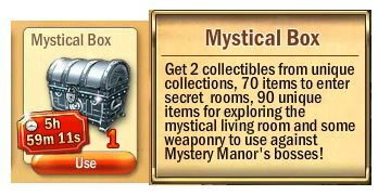 Mystical Box (Silver chest)