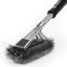 "LauKingdom 17"" Grill Brush (Black)"