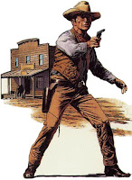 Cowboy with gun (image)