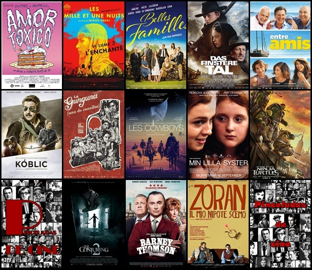 Estrenos, cines, Junio 2016