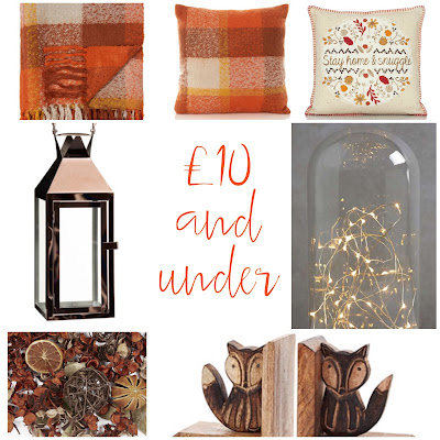 Autumn updates for £10 and under
