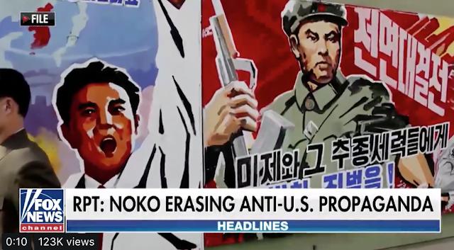 NoKo might be erasing its anti-American propaganda