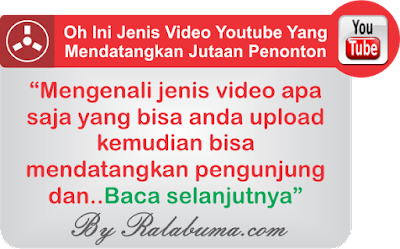 Jenis Video Youtube Yang Bisa Mendatangkan Jutaan Penonton