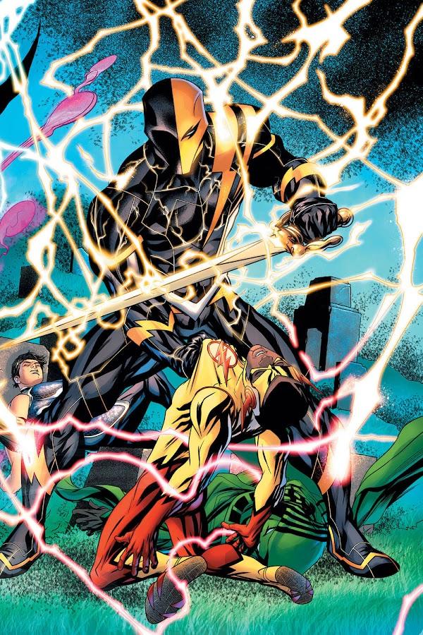 deathstroke flash powers