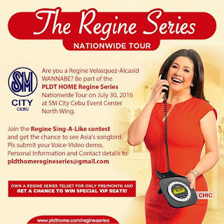The Regine PLDT Home series