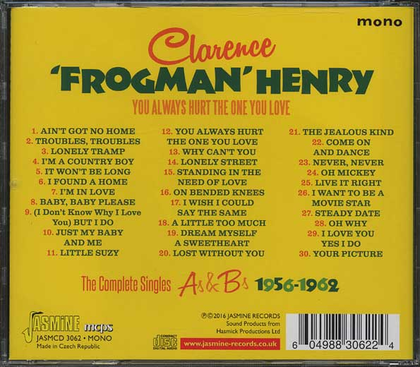You Always Hurt One You Love Clarence Frogman Henry