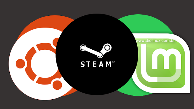 Ubuntu e Linux Mint na Steam