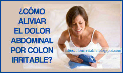 Que tomar para el dolor de colon irritable