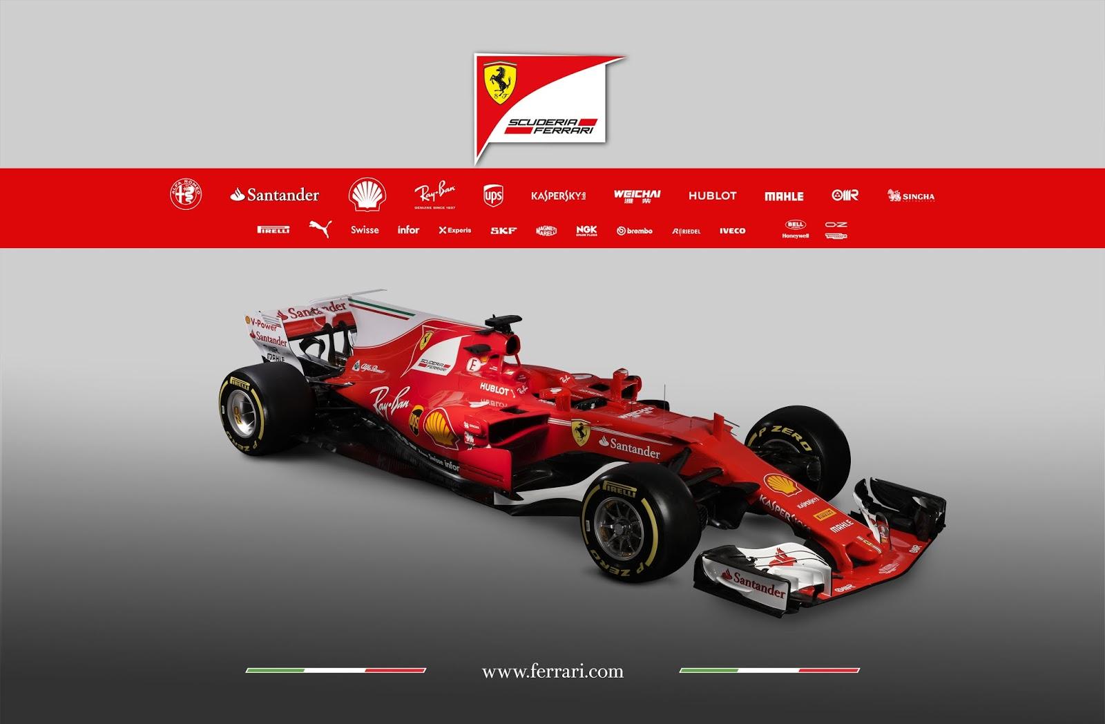 Ferrari SF70H F1 2017 | KFZoom