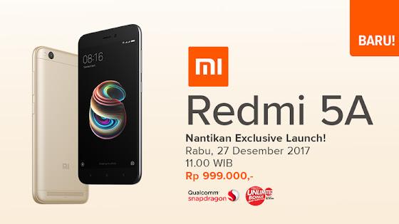 Menunggu Xiaomi Redmi 5A